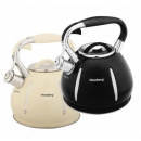 KLAUSBERG kettle 3 L, black & cream
