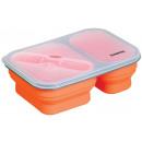 grossiste Boîtes à lunch et Biberons: boîte à 0,9 L du  déjeuner à base de silicone pliab