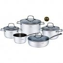 KLAUSBERG set of pots 9 pcs of steel 18/10