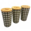 KASSEL, eine Reihe von Containern, Tee / Kaffee /