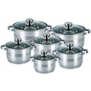 KINGHOFF set of pots 12 pcs