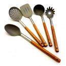 KASSEL set di accessori per la cucina Acacia