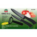 grossiste Jeux de Couteaux: KINGHOFF couteaux  éplucheur en céramique