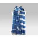 Pareo Blue Marine - oversized scarves