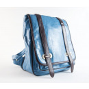 Klein Blue  Backpack Bag - Handbag Messenger