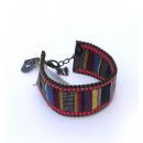 ingrosso Gioielli & Orologi: Accessori moda -  braccialetto di perline tessuto -