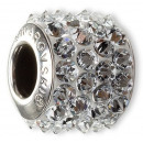 groothandel Beads & Charms: BeCharm SWAROVSKI®  80.901 Pave 12mm Silver Shade