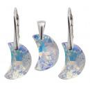groothandel Sieraden & horloges: zilver bezet met swarovski maand 16 Aurore Boreale