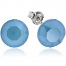 ingrosso Gioielli & Orologi: Orecchini Argento  Con Swarovski Xirius Blue