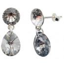 mayorista Pendientes: pendientes de plata con swarovski Xirius ...