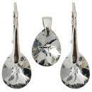 groothandel Sieraden & horloges: zilver bezet met  swarovski MiniPear CAL