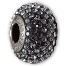 Großhandel Beads & Charms: Becharm SWAROVSKI®  81101 Pave Schlank 13mm Nacht