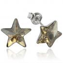 mayorista Joyas y relojes: pendientes de  plata con  swarovski estrella ...