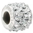 grossiste Bijoux & Montres: Becharm SWAROVSKI® 80901 Pave 12mm CAL