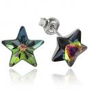 ingrosso Gioielli & Orologi: orecchini  d'argento con  swarovski Stella ...
