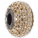 BeCharm SWAROVSKI® 81101 Pave Slim 13mm Golden