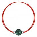 Kabbalah Bracelet with Silver Swarovski Charm