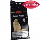 Großhandel KFZ-Pflege: Caramba Leder Pflegetücher 12Stk alle Farben