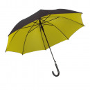 Automatic stick  umbrella  Doubly  with metal shaft