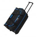 Großhandel Koffer & Trolleys: Trolley-Tasche   Hansa  schwarz, blau
