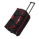 Trolley-Tasche  Hansa  schwarz, rot