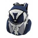 wholesale Backpacks: Weatherproof  rucksack  Cross  blue