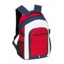 wholesale Backpacks: Backpack  Marina  blue, red, white