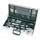 wholesale Garden & DIY store: 18 piece barbecue set Summer season packed in a