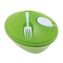 Großhandel Kunstblumen: Salatschüssel EAT FRESH, apfelgrün