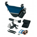 Bicycle bag  Bike  Aid  with  reflectors, Velcro ...