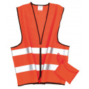 wholesale Car accessories: Safety / emergency vest with reflector stripes ...