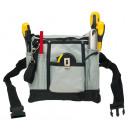 Werkzeug-Gürteltasche DO IT, schwarz, grau, gelb