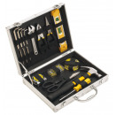 wholesale Toolboxes & Sets: 17-piece tool set   Engineer  packed in a silver ca