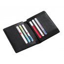 wholesale Wallets: Genuine leather credit card wallet Wall Street w