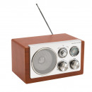 wholesale Consumer Electronics: AM/FM radio Classic with elegant wooden ...