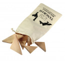 wholesale Mind Games: Puzzle  Tangram   made out of natural juniper wood