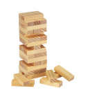 wholesale Wooden Toys: Wackelturm  high-rise  wood
