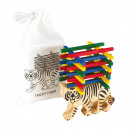 wholesale Wooden Toys: Patience game Tricky Tiger consists of a wooden