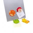grossiste Materiel de bureau: Porte-mémos  Funny  Four  avec aimants, 4 motifs an
