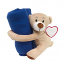 wholesale Cushions & Blankets: Cuddle set René : consists of plush teddy bear w