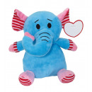 wholesale Dolls &Plush: Plush elephant Ben : with soft and multi-coloure