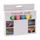 wholesale Outdoor Toys: 6 pieces of  coloured chalk   Street  packed in ...