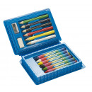 grossiste Bricoler et dessiner: Mini set de dessin   Art  , comprend 6 crayons de c