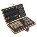 grossiste Bricoler et dessiner: Set de dessin   Monet  dans  coffret en bois ...
