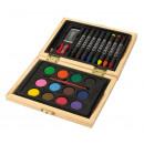 grossiste Peintre besoins: Set de peinture Creative colour : comprend 8 cra