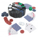 wholesale Parlor Games: Poker game ,  consists of chips, cards and a turnab