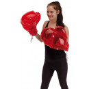Boxing Gloves  Knock out  color red