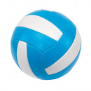 Beach volleyball   Play time  color light blue, whi