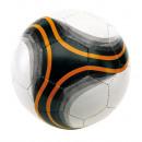 Fußball  Arena   Farbe weiß, schwarz, orange