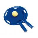 Beachball-Set   Have fun  Farbe blau